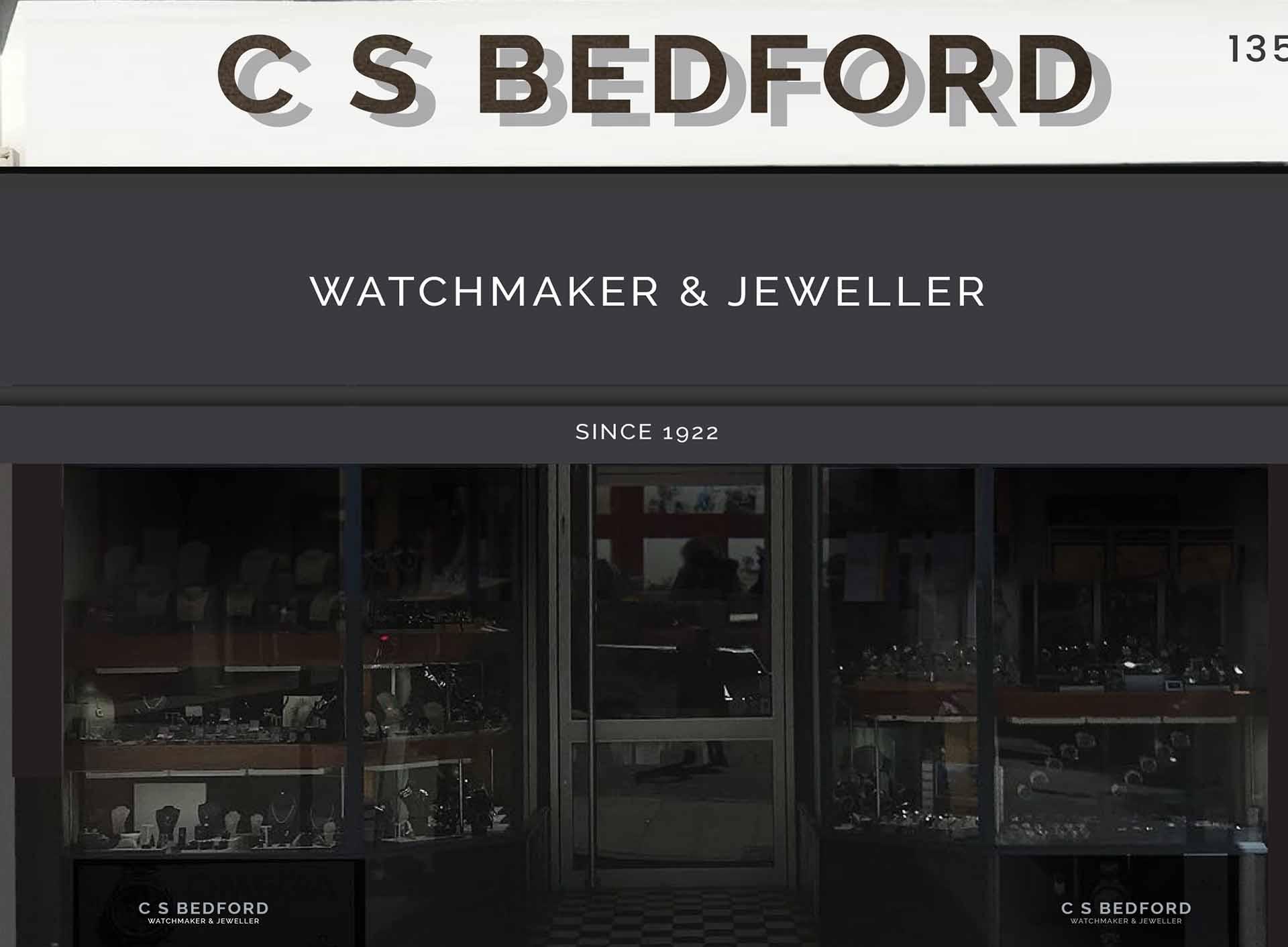 CSBEDFORD Jewellers Ruislip Store Front
