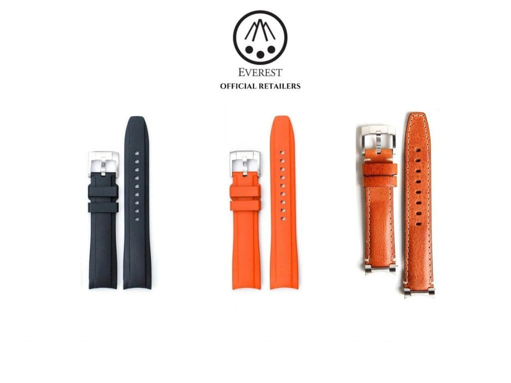 Everest Watch Straps - CSBEFORD Family Jewellers Ruislip