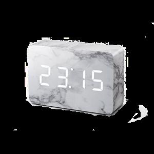 Ginko Brick Marble Click Clock GK15W5 csbedford