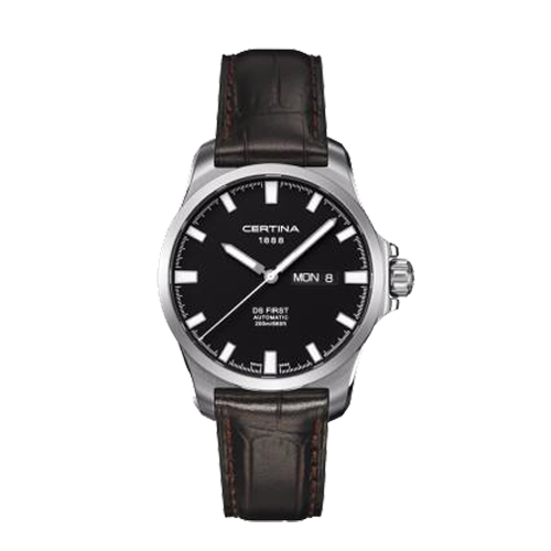 Certina Mens DS First Day Date Automatic C0144071605100 Watch Csbedford