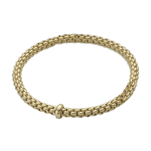 Fope 18ct Yellow Gold rope Flex'It Bracelet 620BM csbedford