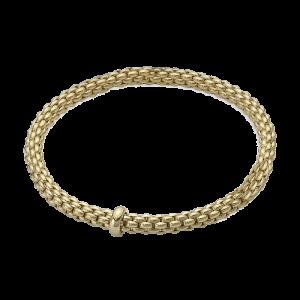 Fope 18ct Yellow Gold rope Flex'It Bracelet 620BM csbedford