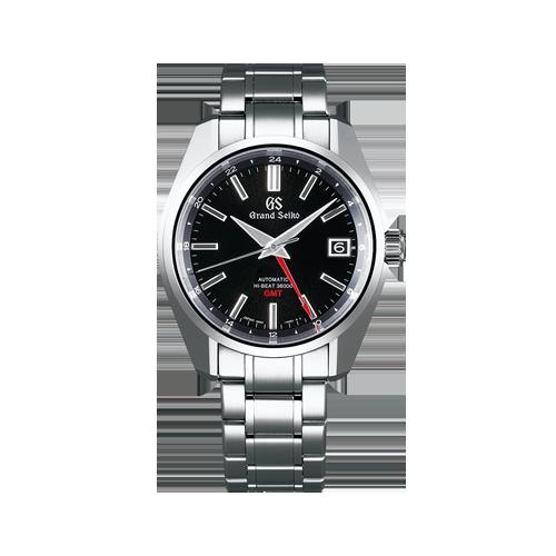 Grand Seiko Hi-Beat 36000 Auto GMT Bracelet Watch SBGJ203G csbedford