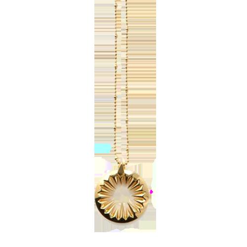 Kasun London Gold Plated Midnight Sun Pendant GLF-PO36G csbedford