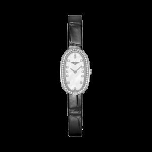 Ladies Longines Symphonette Diamond MOP Watch L23040870 csbedford