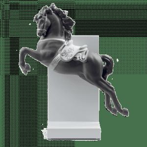 Lladro Horse on Pirouette ReDeco 01008720 csbedford