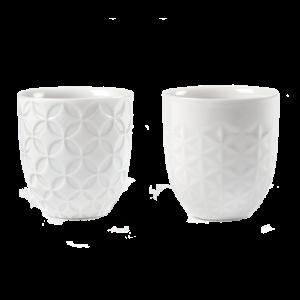 Lladro Sake Cups 01009605 porcelain csbedford