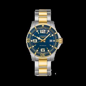Longines Blue Quartz Mens HydroConquest Watch L37403967 csbedford