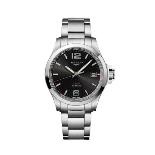 Longines Conquest VHP Black Dial Mens Watch L37164566 csbedford