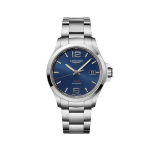Longines Conquest VHP Blue Dial Mens Watch L37264966 csbedford