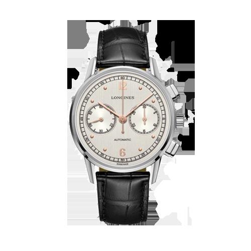Longines Heritage Chronograph Mens Watch L28144760 csbedford