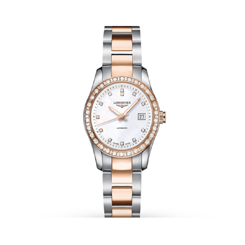 Longines Women's Conquest Classic Automatic Watch L22855767 csbedford
