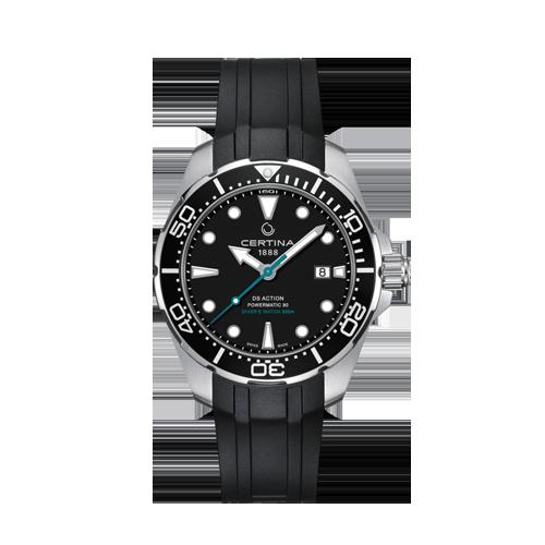 Mens Certina DS Action Diver Powermatic 80 C0324071705160 Watch Csbedford