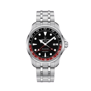 Mens Certina DS Action GMT Powermatic 80 C0324291105100 Watch Csbedford