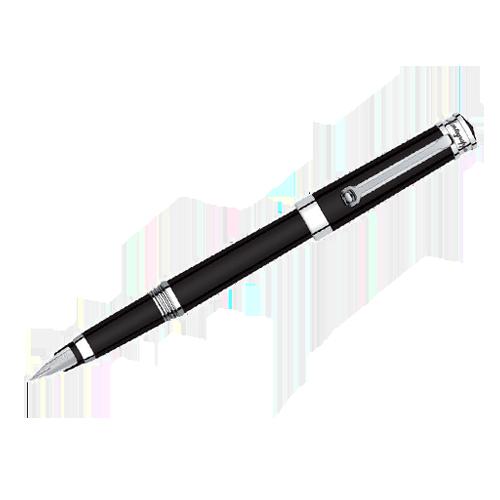 Montegrappa Parola Black Resin Fountain Pen ISWOT_AB csbedford