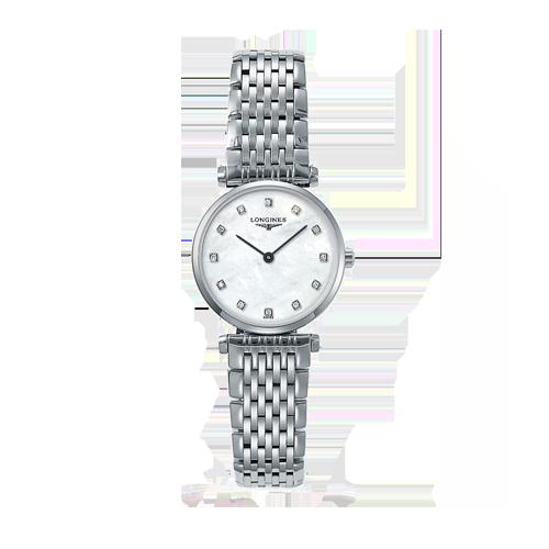 Longines Women's La Grande Classique Diamond Mother of Pearl Watch L42094876 csbedford