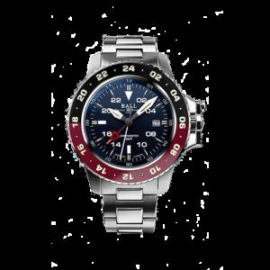 Ball watch Men's Engineer Hydrocarbon AeroGMT II blue DG2018C-SC3-BK csbedford