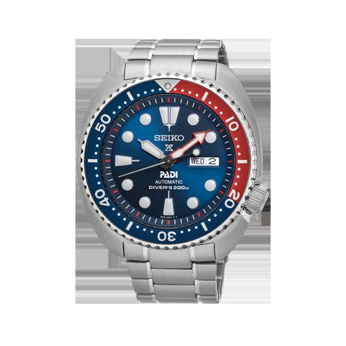 Seiko Men's Prospex PADI Blue Silver Stainless Steel Watch SRPA21K1 csbedford