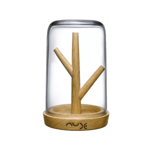 Nude Glass Blossom Clear Jewellery Box Csbedford