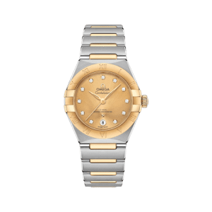 Omega Constellation Manhattan Champagne Dial Watch csbedford