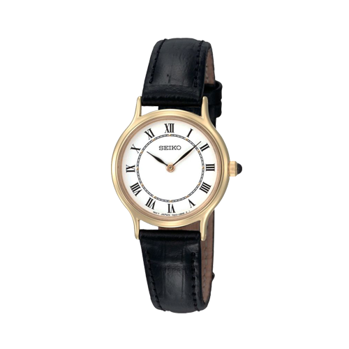 Seiko Ladies Gold Plated Watch SFQ830P1 csbedford