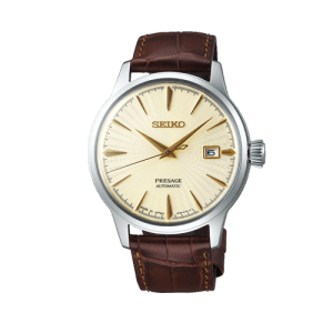 Seiko Mens Champagne Presage Watch Cocktail Automatic SRPC99J1 csbedford