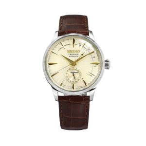 Seiko Men's Presage Cocktail Time Automatic Champagne Dial Watch SSA387J1