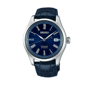Seiko Presage Cocktail Automatic Blue Dial Strap Watch SPB075J1 csbedford
