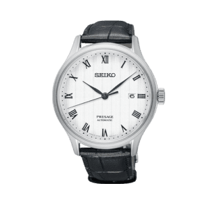 Seiko Presage Zen Garden Automatic Black Strap Watch SRPC83J1 csbedford