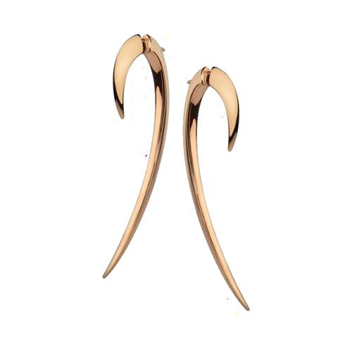Shaun Leane Rose Gold Vermeil Hook Earrings SLS276 csbedford