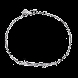 Shaun Leane Silver Cherry Blossom Diamond Branch Bracelet CB024.SSWHBOS csbedford