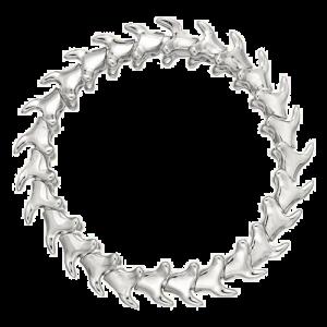 Shaun Leane Silver Serpents Trace Wide Bracelet ST014.SSNABZL csbedford