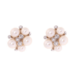 Simon Harrison Audrey Earrings - Pearls SHJ251-05-163 csbedford