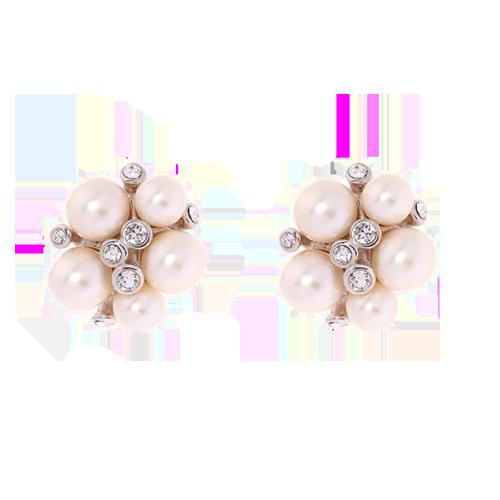 Simon Harrison Audrey Earrings - Pearls SHJ251-05-163 csbedford