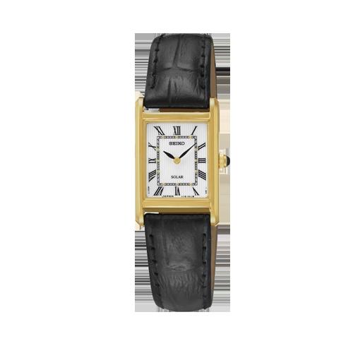Unisex Seiko Dress Solar Powered Watch SUP250P1 csbedford