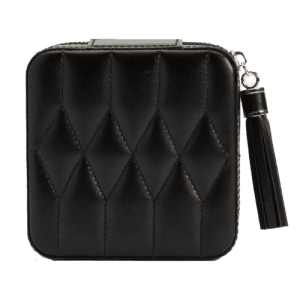 Wolf Est 1834 Caroline Leather Zip Case Black 329971 csbedford