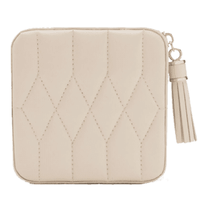 Wolf Est 1834 Caroline Leather Zip Case ivory 329953 csbedford