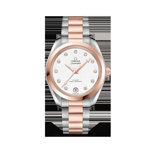 Aqua Terra 150M Omega Co‑Axial Master Chronometer 34 mm csbedford