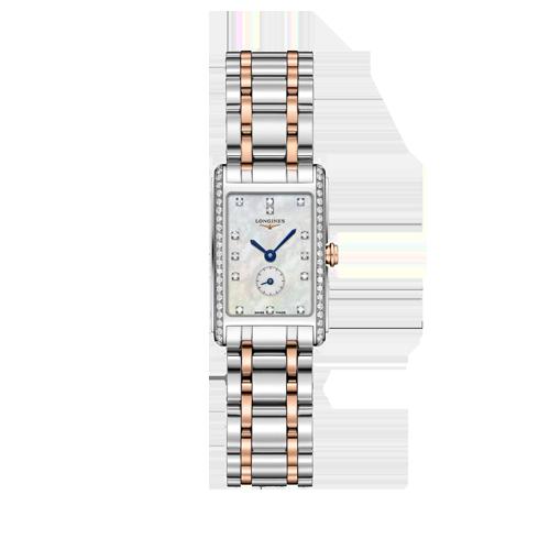 Longines Dolce Vita Diamond & Mother of Pearl Watch L52555897 csbedford