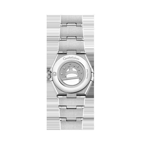 Omega Constellation Quartz Grey Dial Watch cs bedford