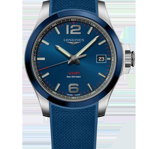 Longines Conquest V.H.P Men's Watch L37194969 Csbedford