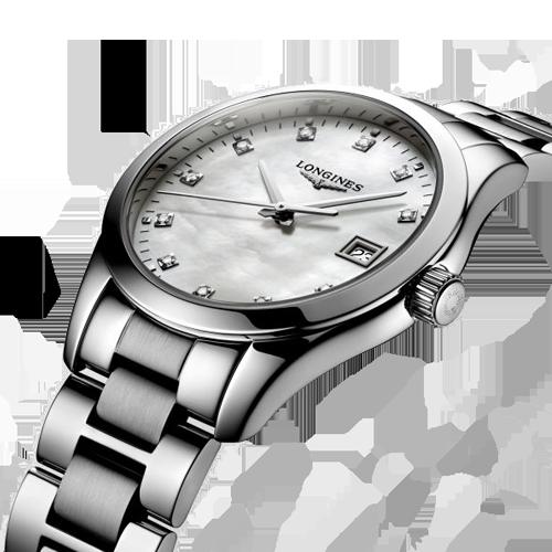 Longines Diamond Women's Conquest Classic Quartz Watch L23864876