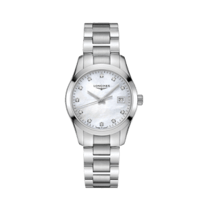 Longines Diamond Women's Conquest Classic Quartz Watch L23864876