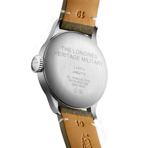 Longines Heritage Military Mens Watch L28194932 Csbedford