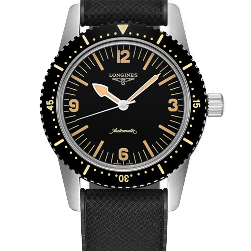 Longines Men's Skin Diver Automatic Watch L28224569 Csbedord