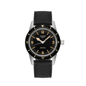 Longines Men's Skin Diver Automatic Watch L28224569 Csbedord