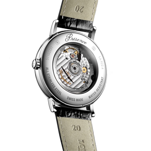 Longines Presence Men's Automatic White Dial Watch L49224112