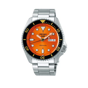 Mens Seiko Orange 5 Sports Automatic Watch SRPD59K1 Csbedford