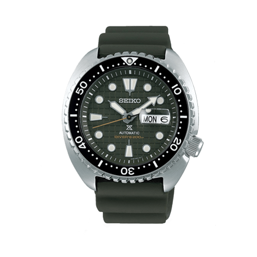 Seiko Prospex King Turtle Automatic Diver's Green Watch SRPE05K1