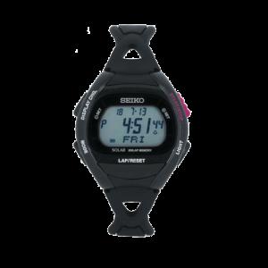 Unisex Seiko Superrunner Solar Alarm Chronograph Watch SBEF001J